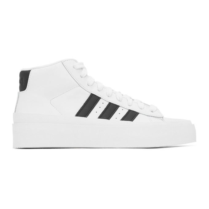 424 Baskets montantes blanches Pro Model 80s edition adidas Originals