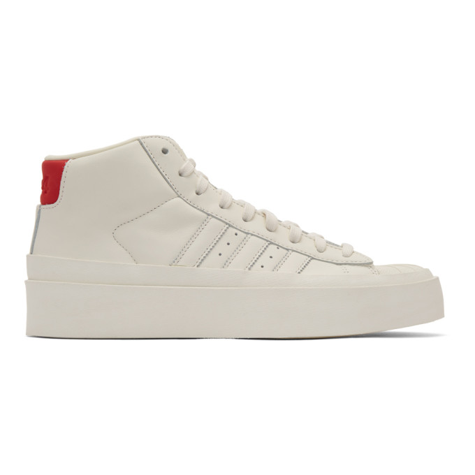 424 Baskets blanc casse Pro Model 80s High-Top edition adidas