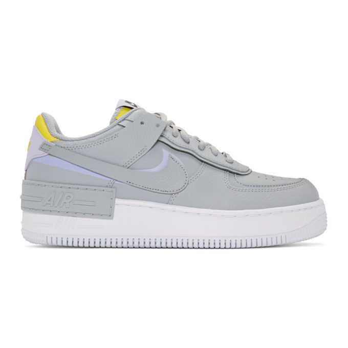 Nike Grey Shadow Air Force 1 Sneakers