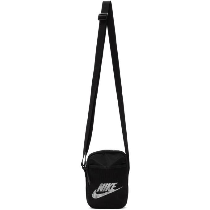 Nike Black Small Heritage Crossbody Bag
