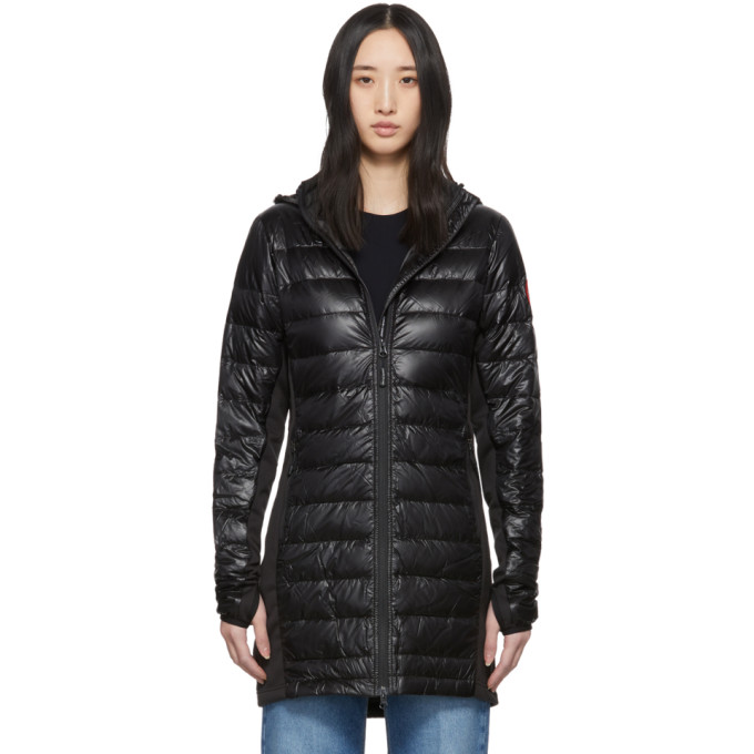 Canada Goose Manteau en duvet noir Hybridge Lite