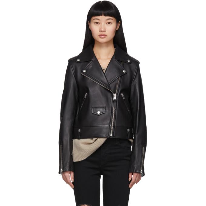 Mackage Mackage Black Baya R Leather Jacket