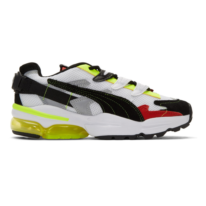 ADER error Baskets noires et multicolores Cell Alien edition Puma