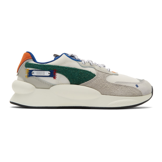 ADER error Baskets blanches et multicolores 9.8 edition Puma