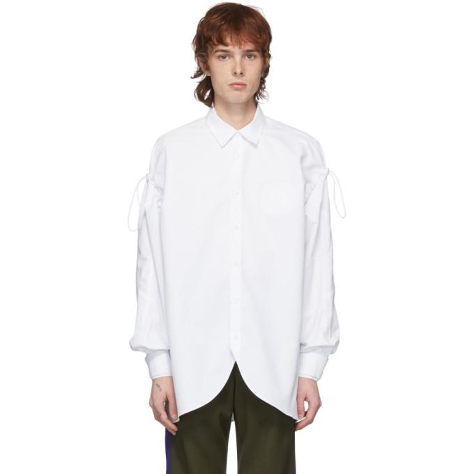 ADER error Chemise blanche Oblique