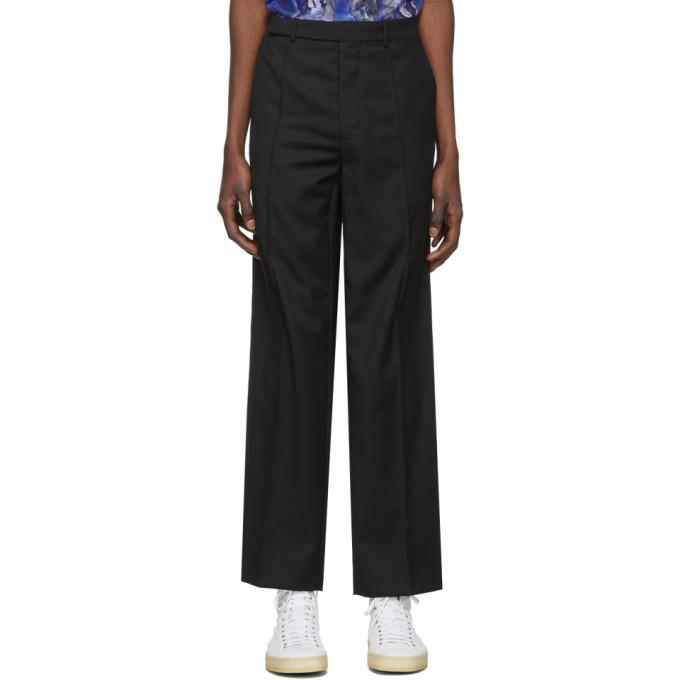 Namacheko Pantalon en laine noir Tuuwa