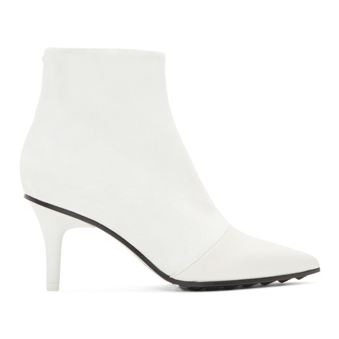 Buy rag and bone White Beha Moto Boots online