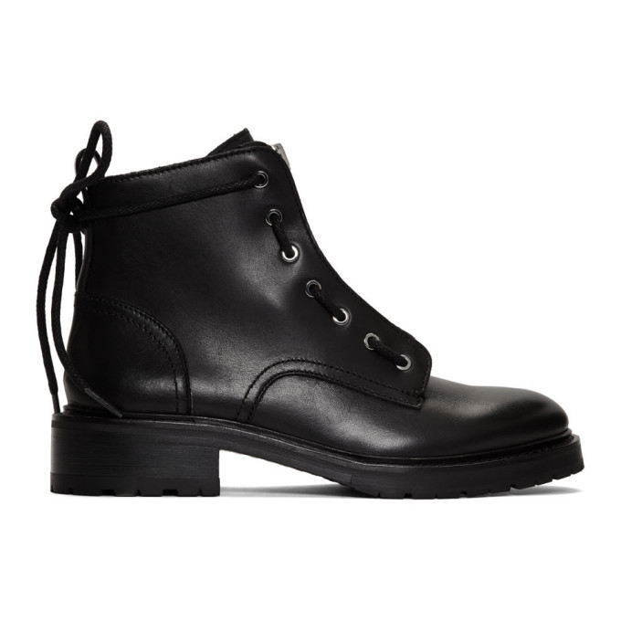 rag and bone Black Cannon Boots