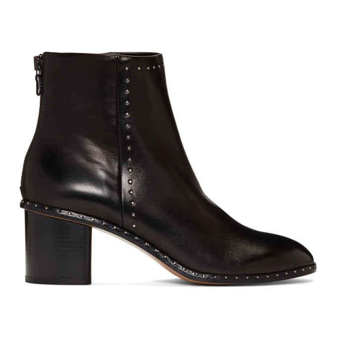 rag and bone Bottes cloutees noires Willow