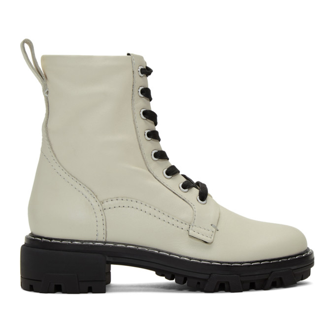 rag and bone Off-White Shiloh Boots