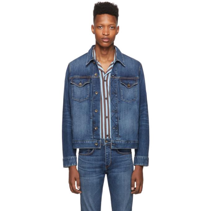 rag and bone Blouson en denim bleu Definitive Jean