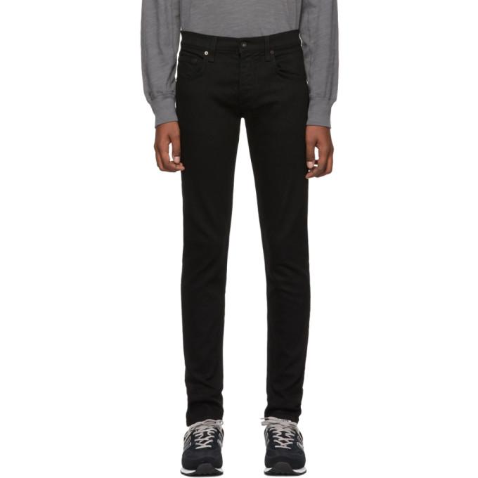 rag and bone Black Fit 1 Jeans