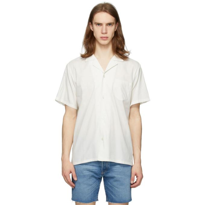 Bather Chemise blanc casse Camp