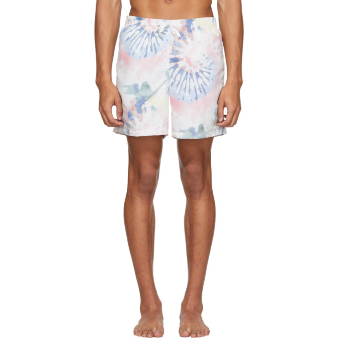 Bather Maillot de bain multicolore Acid Tie-Dye