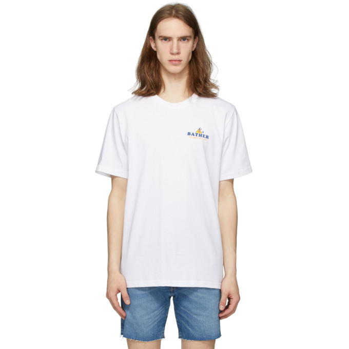 Bather T-shirt blanc Out Of Office