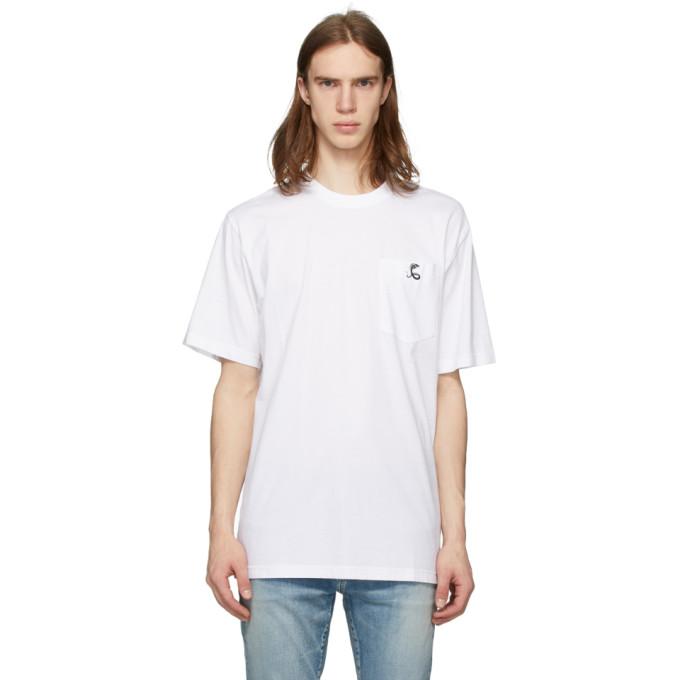 Cobra S.C. T-shirt a logo blanc