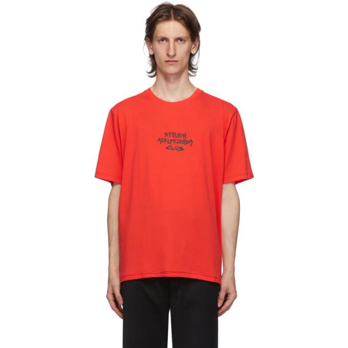 Stolen Girlfriends Club T-shirt rouge Techno Punk