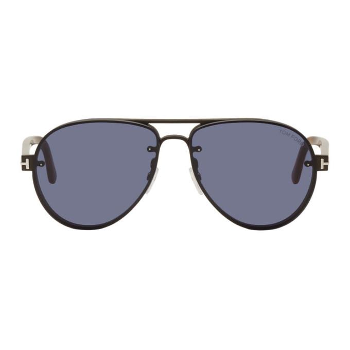 Tom Ford Black Alexei Sunglasses