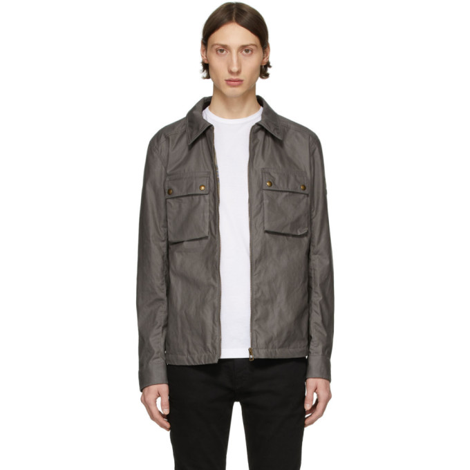 Image of Belstaff Grey Dunstall Jacket
