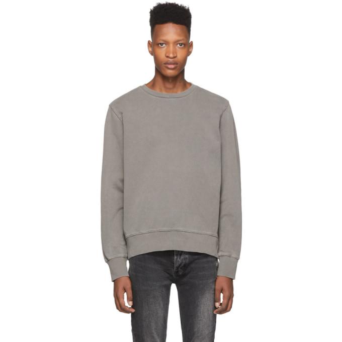 Ksubi Seeing Lines Crewneck Sweatshirt In Grey