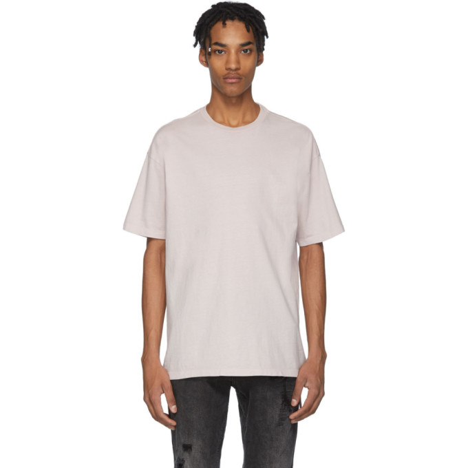 Ksubi T-shirt rose Biggie