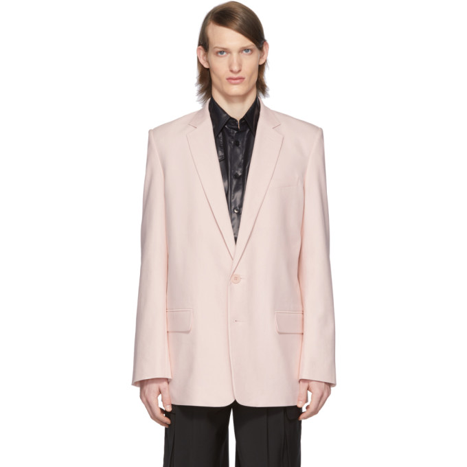 SSENSE Exclusive Pink Long Blazer