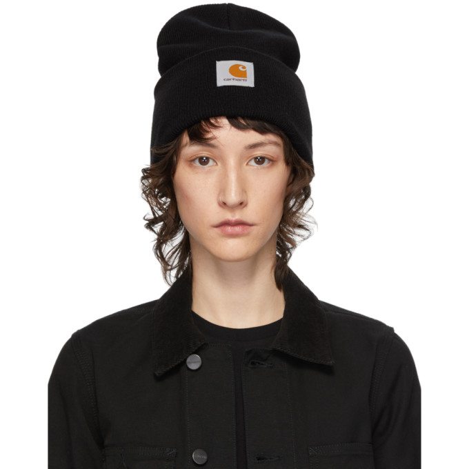 Carhartt Work In Progress Bonnet noir Watch
