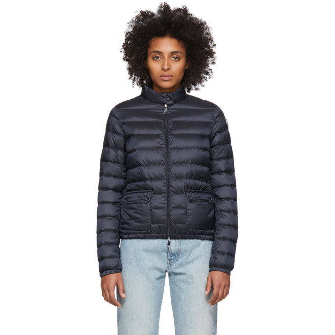Moncler Navy Down Lans Jacket thumbnail