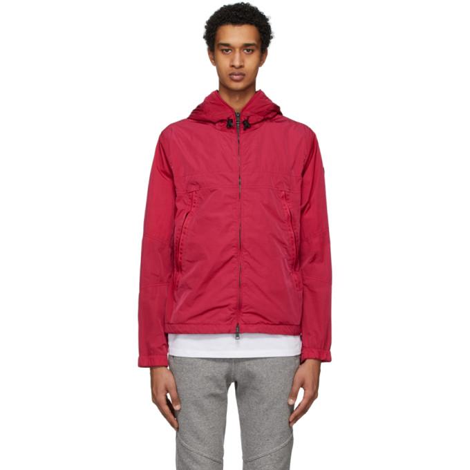 Moncler Moncler Red Hooded Jacket