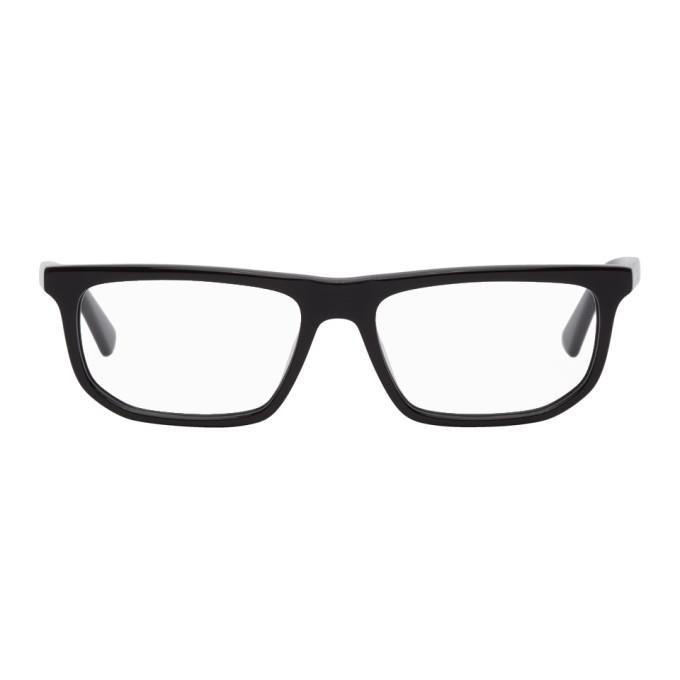 McQ Alexander McQueen Black Rectangular Glasses