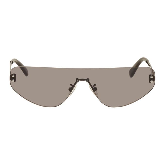 McQ Alexander McQueen Black 90s Sunglasses