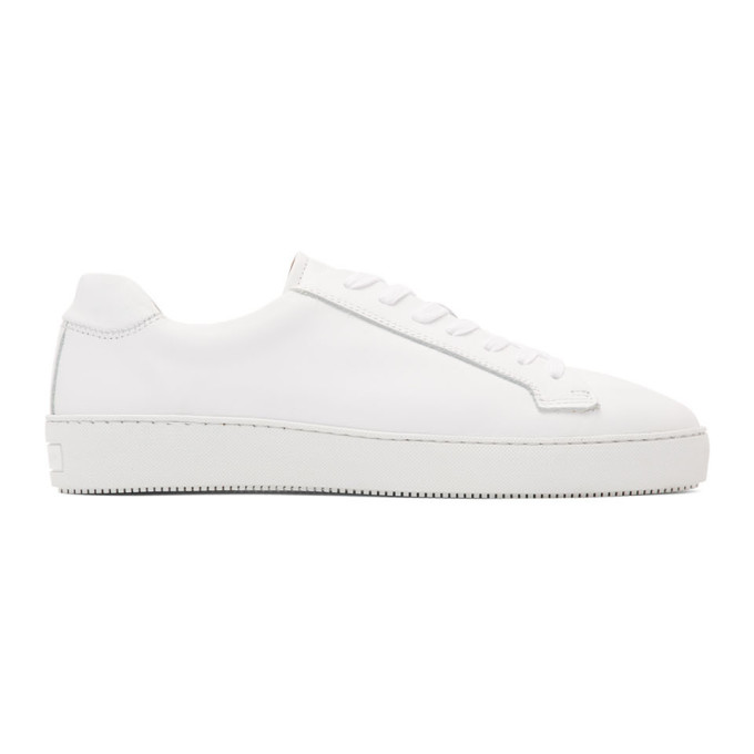 Tiger of Sweden Baskets blanches Salas Low-Top