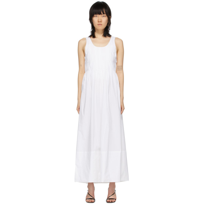 Markoo Robe blanche The Pleated