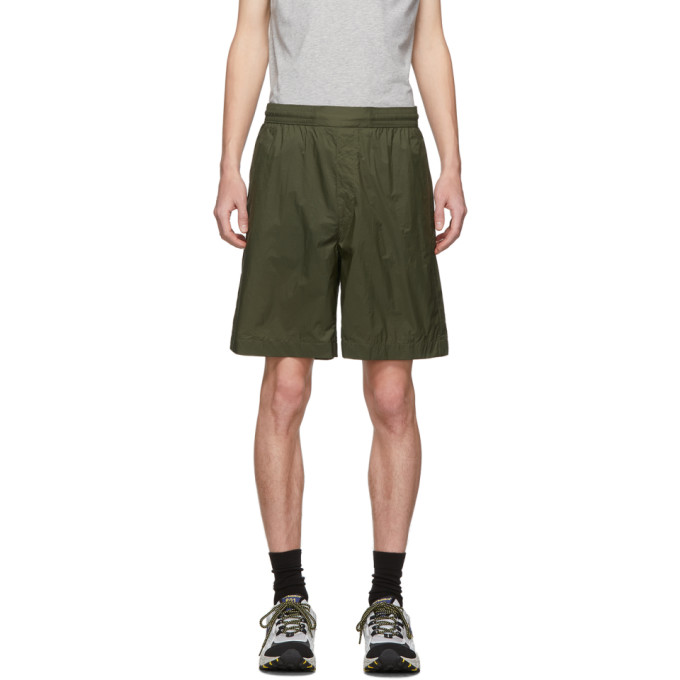 Acne Studios Ruben Beachwear In Green Polyamide In Deep Green