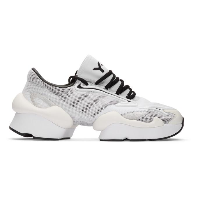 Y-3 Baskets blanches Ren