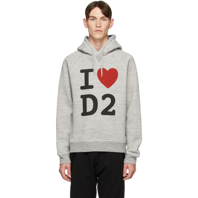Dsquared2 I Love D2 フーディ