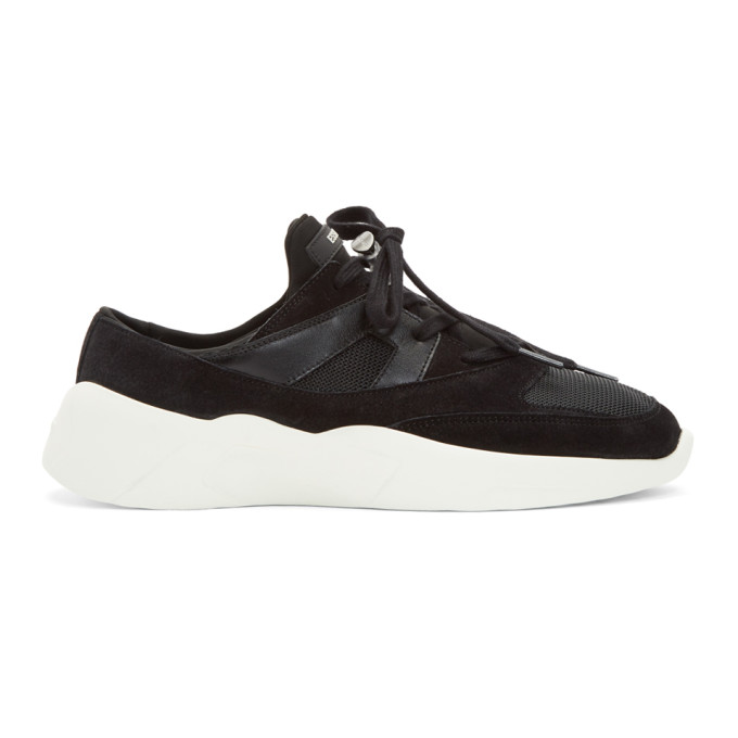 SSENSE Exclusive Black Backless Sneakers