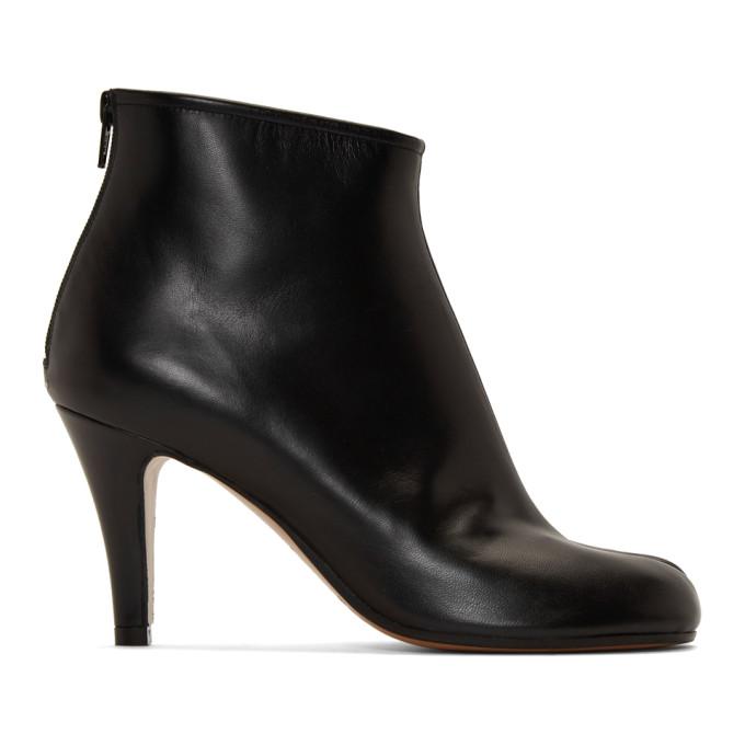 Buy Maison Margiela Black Stiletto Tabi Boots online
