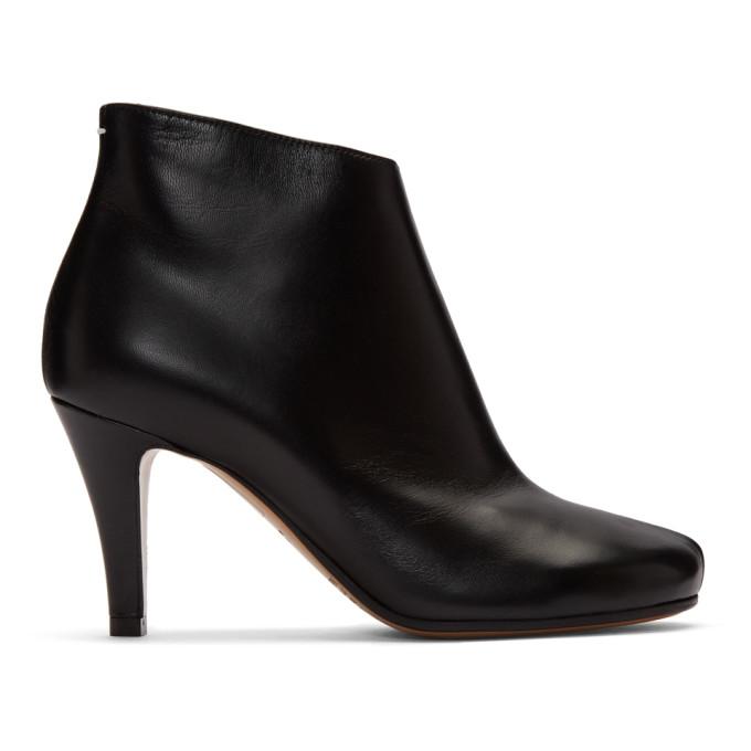 Buy Maison Margiela Black Stiletto Boots online
