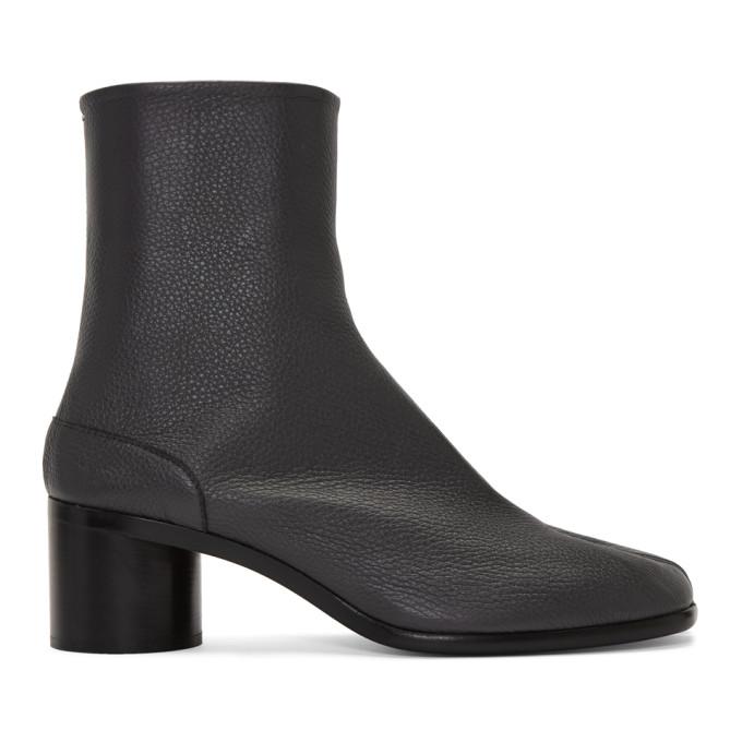 グレー Tabi ブーツ