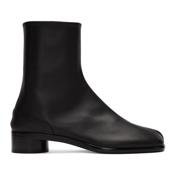 ブラック Tabi ブーツ