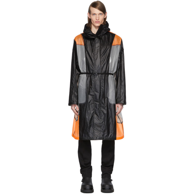 Moncler Genius Moncler Genius 6 Moncler 1017 ALYX 9SM Black and Orange Colorblock Cosmos Jacket
