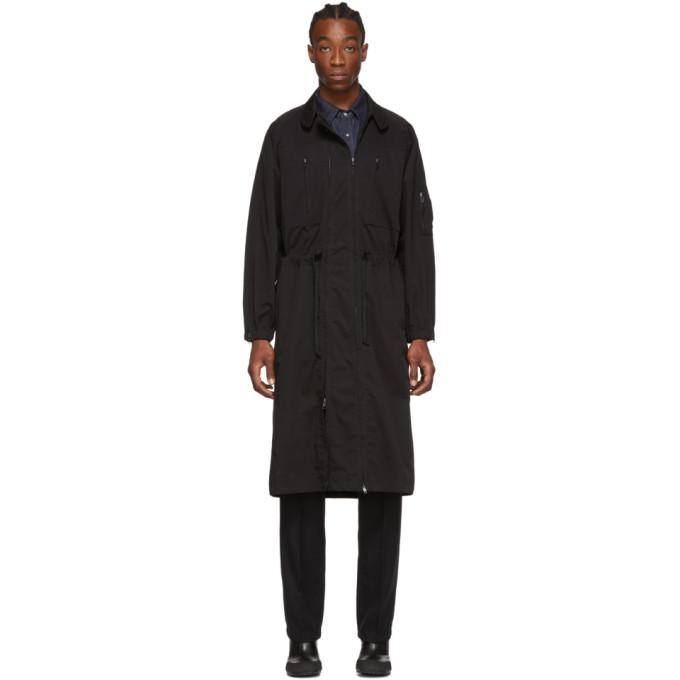 Random Identities ブラック Versatile ドレス コート