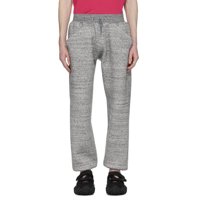 Fumito Ganryu Pantalon de survetement gris Kurta Jogger