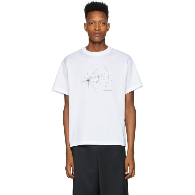 Fumito Ganryu T-shirt blanc Alien