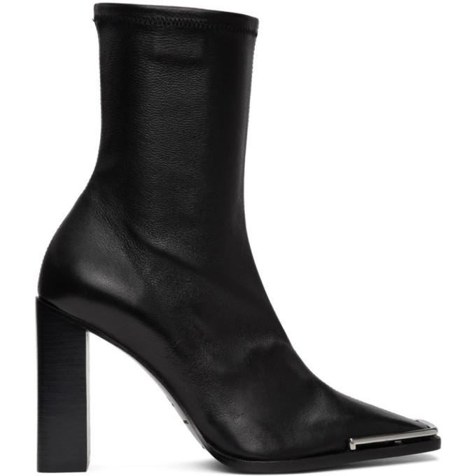 Buy Alexander Wang Black Nappa Mascha Boots online