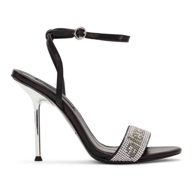 Buy Alexander Wang Black Jane Crystal Sandals online