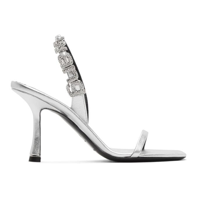 Buy Alexander Wang Silver Ivy Heeled Sandals online