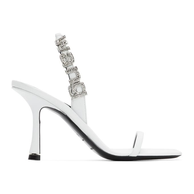 Buy Alexander Wang White Ivy Heeled Sandals online