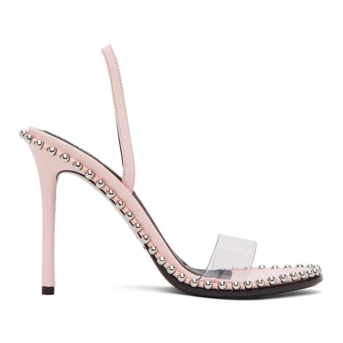 Buy Alexander Wang Pink Nova Heeled Sandals online
